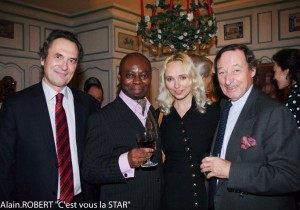 Friends,Mr.Thierry Provoust 'Organization Pour vous les Prince'' events organiser and seminars Europe
