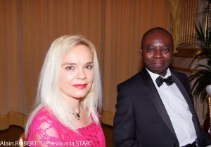 My wife Catherine and myself (bal de Prince Unité Capetienne-Paris)