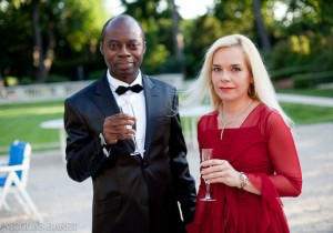 My wife & myself at the Bal de Prince (Unité Capetienne)